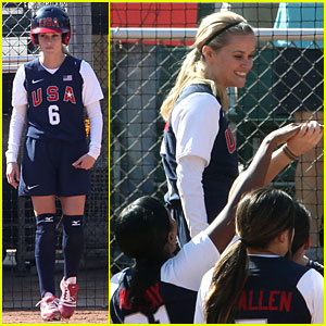 Reese Witherspoon is A Softball Superstar