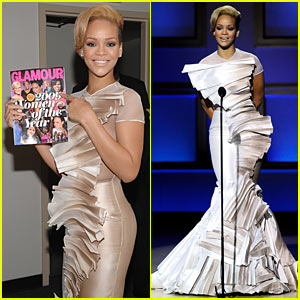 Rihanna's Glamour Awards Acceptance Speech -- VIDEO