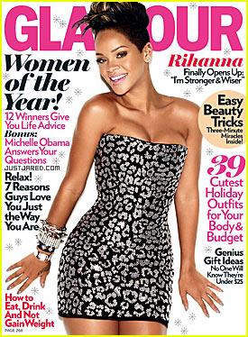 Rihanna: Glamour Cover Girl December 2009