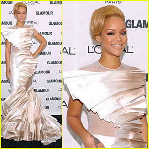 Rihanna: 2009 Glamour Magazine Women of The Year Awards