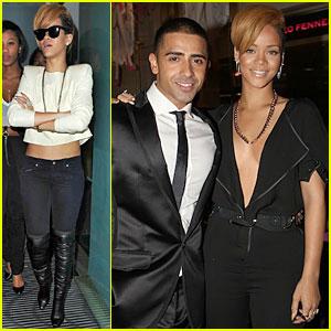 Rihanna Celebrates Jay Sean's Album Release