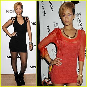 Rihanna Makes It A Mahiki Night