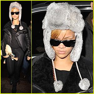 Rihanna is Pompom Perfect
