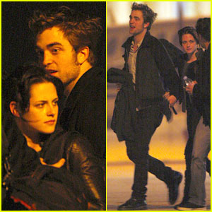 Robert Pattinson & Kristen Stewart Keep Close