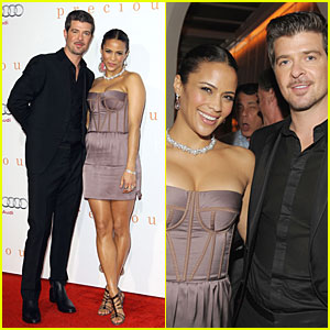 Robin Thicke and Paula Patton Are Precious