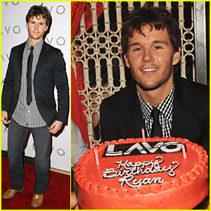 Ryan Kwanten: Las Vegas Birthday Celebration!