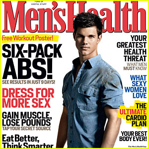 Taylor Lautner Covers 'Men's Health' December 2009