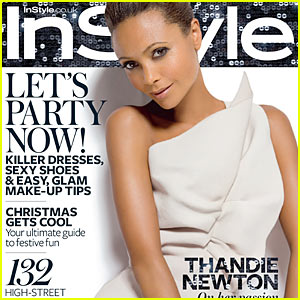 Thandie Newton Covers UK's InStyle December 2009