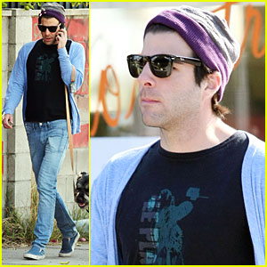 Zachary Quinto & Noah: Silverlake Stroll