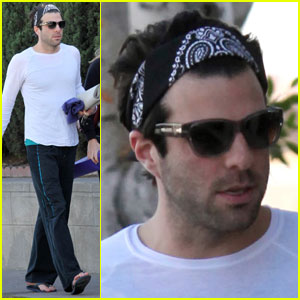 Zachary Quinto: Yoga Bearing