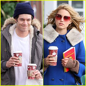 Adam Brody & Dianna Agron Take It To The Slaughterhouse