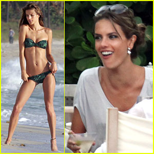 Alessandra Ambrosio: Bikini Photo Shoot!