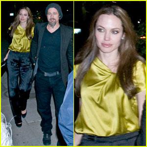 Angelina Jolie & Brad Pitt: Dolce Date Night