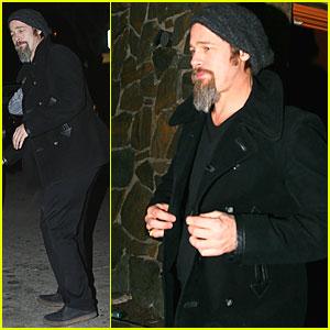 Brad Pitt Makes It a Mexico City Night