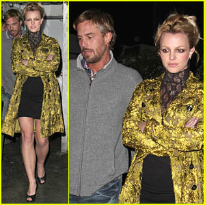 Britney Spears & Jason Trawick: Little Door Date