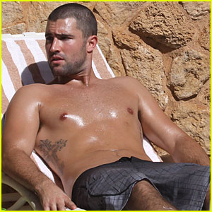 Brandon Jenner Shirtless