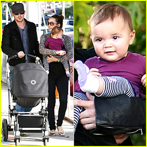 Cam Gigandet: Everleigh Smiles Sweetly!