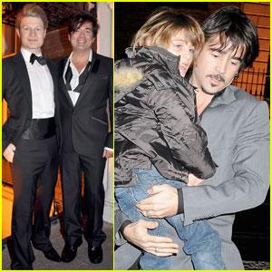 Colin Farrell: Baby Baptism!