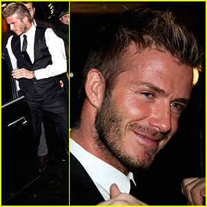 David Beckham Gets Milan Manly