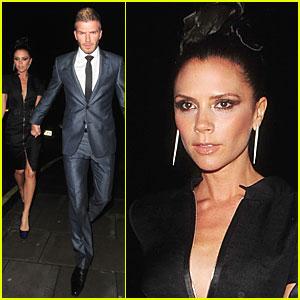 David & Victoria Beckham: Harper's Bazaar Breathtaking