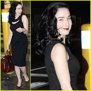 Dita Von Teese Makes It to Miami