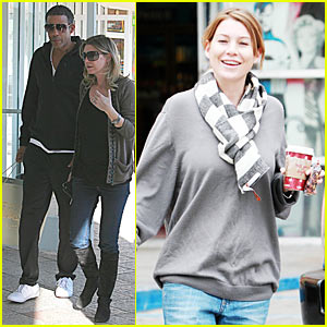 Ellen Pompeo Knocks It Out Of The Sushi Park