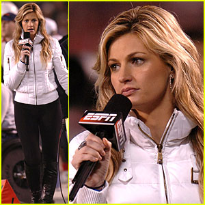 Erin Andrews: ESPN Holiday Hottie!