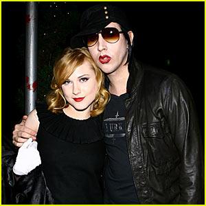 Evan Rachel Wood & Marilyn Manson: Back Together!
