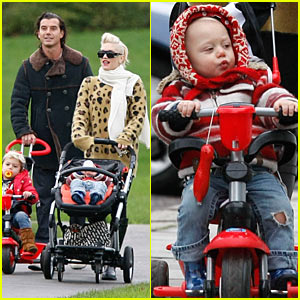 Gwen Stefani & Gavin Rossdale: Primrose Hill Playground