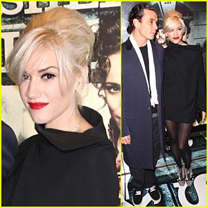 Gwen Stefani & Gavin Rossdale Premiere 'Sherlock Holmes'