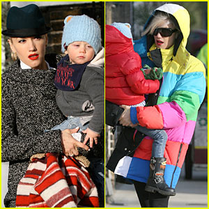 Gwen Stefani: TV Test Pattern Jacket!