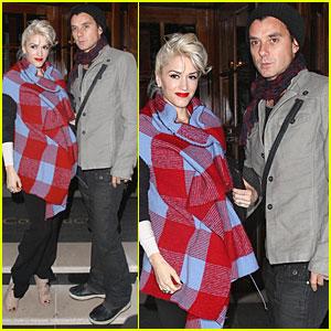 Gwen Stefani & Gavin Rossdale: Harper's Bazaar Dinner Duo