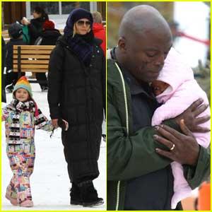 Heidi Klum & Seal: Winter Family Fun