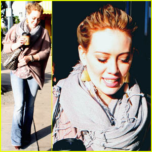 Hilary Duff: Christmas Eve Shopping!