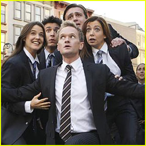 How I Met Your Mother Films a Musical Number