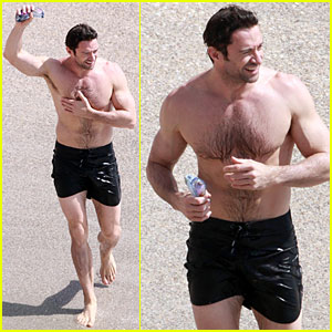 Hugh Jackman: St. Bart's Sexy