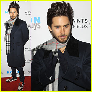 Jared Leto Celebrates Nylon Guys' Winter Issue