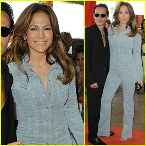 Jennifer Lopez & Marc Anthony: Decked Out Dolphins
