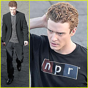 Justin Timberlake Gets Back N'Sync With His Curls