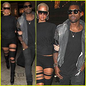 Kanye West & Amber Rose: 'Avatar' Date!