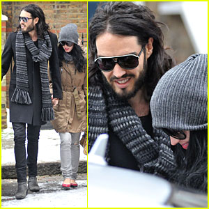 Katy Perry & Russell Brand: Bundled Up Couple