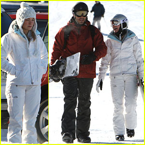 LeAnn Rimes &#038; Eddie Cibrian: Snowboarding Sweethearts!