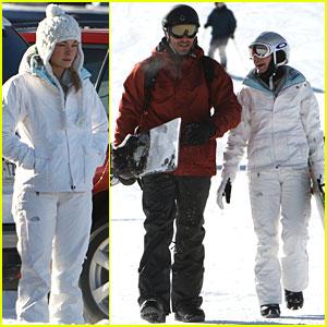 LeAnn Rimes & Eddie Cibrian: Snowboarding Sweethearts!