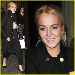 Lindsay Lohan Likes to Intermix-a-lot