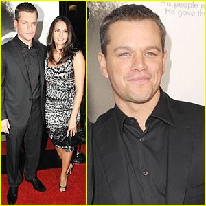 Matt Damon: My Wife Loves Clint Eastwood!
