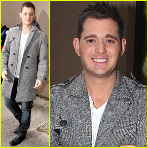 Michael Buble Visits Regis and Kelly
