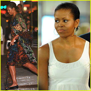 Michelle Obama: Colors of the Rainbow!
