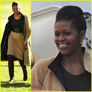 Michelle Obama: Home from Oslo!