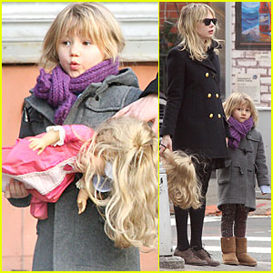 Michelle Williams & Matilda Ledger are New York Dolls