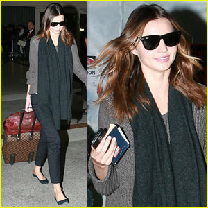 Miranda Kerr: Christmas in Los Angeles?